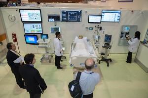 a patient room